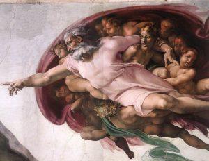 Michelangelo's Creation of Adam Anatomy of the Brain